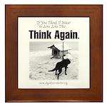 Think Again 'Ebb' Attire Framed Tile
