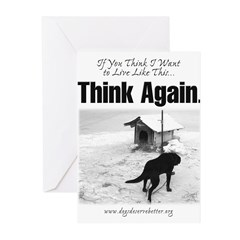 Think Again 'Ebb' Attire Greeting Cards (Package o