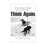 Think Again 'Ebb' Attire Mini Poster Print