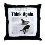 Think Again 'Ebb' Attire Throw Pillow