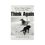 Think Again 'Ebb' Attire Rectangle Magnet (10 pack