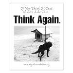 Think Again 'Ebb' Attire Small Poster