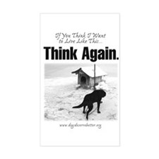 Think Again 'Ebb' Attire Rectangle Decal