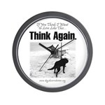 Think Again 'Ebb' Attire Wall Clock