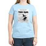 Think Again 'Ebb' Attire Women's Pink T-Shirt