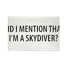 Skydiver2.png Rectangle Magnet