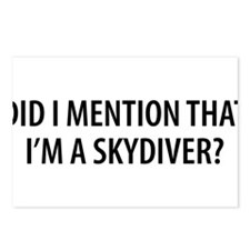 Skydiver2.png Postcards (Package of 8)