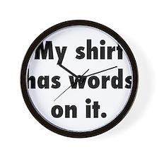 Shirt2.png Wall Clock