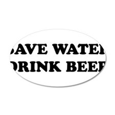 SaveWater2.png Wall Decal