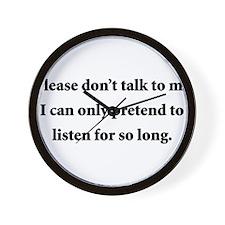 Pretend2.png Wall Clock