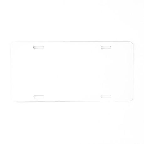 Nicer2.png Aluminum License Plate