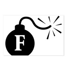 Fbomb2.png Postcards (Package of 8)