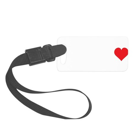 Dyslexia2.png Small Luggage Tag