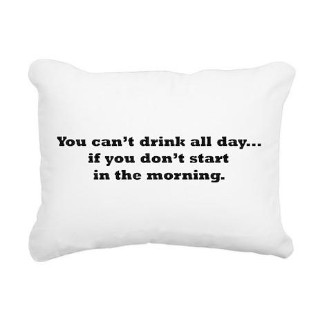 Drink2.png Rectangular Canvas Pillow