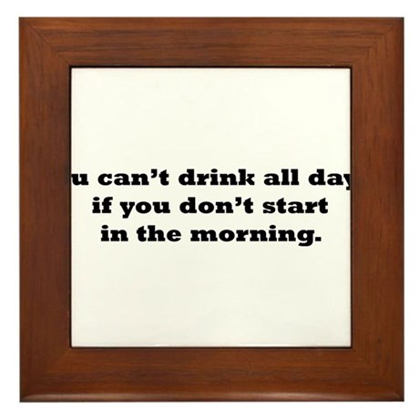Drink2.png Framed Tile