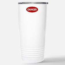 Danger2.png Stainless Steel Travel Mug