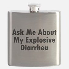 Funny Ask me about my granddog Flask