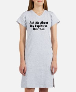 Cute Ask me about Women's Nightshirt