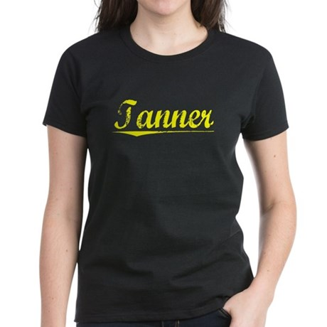 Tanner, Yellow Women's Dark T-Shirt