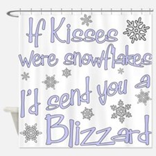 kiss blizzard.png Shower Curtain