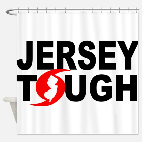 Jersey Strong Shower Curtain