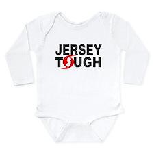 Jersey Strong Long Sleeve Infant Bodysuit
