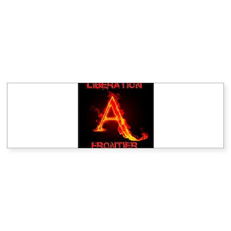 Animal Liberation Frontier Logo Sticker (Bumper)