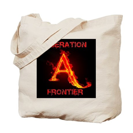 Animal Liberation Frontier Logo Tote Bag