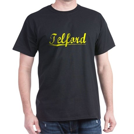 Telford, Yellow Dark T-Shirt