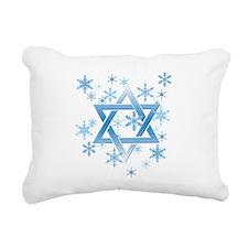 winter david.png Rectangular Canvas Pillow