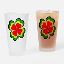 irish rasta.png Drinking Glass