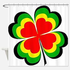 irish rasta.png Shower Curtain