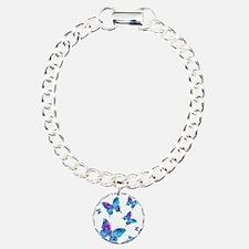 Electric Blue Butterfly Flurry Bracelet