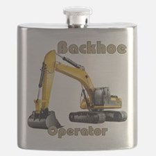 Backhoe Flask