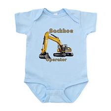 Backhoe Infant Bodysuit