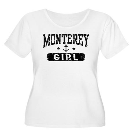 Monterey Girl Women's Plus Size Scoop Neck T-Shirt