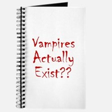 Vampires Actually Exist Journal