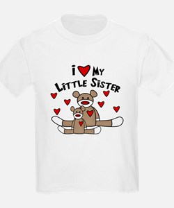 I Love My Little Sister SM Baby/ T-Shirt