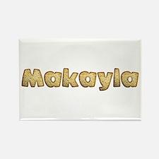 Makayla Toasted Rectangle Magnet