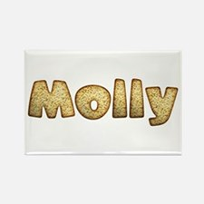 Molly Toasted Rectangle Magnet