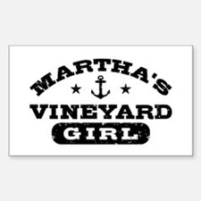 Martha's Viveyard Girl Decal