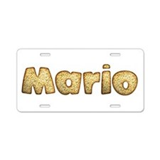 Mario Toasted Aluminum License Plate