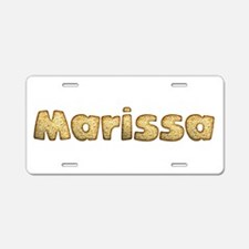 Marissa Toasted Aluminum License Plate