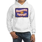 Baseball Hippies Hooded Sweatshirt