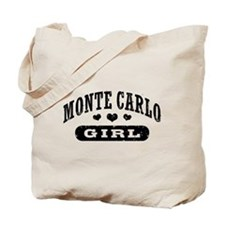 Monte Carlo Girl Tote Bag