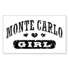 Monte Carlo Girl Decal
