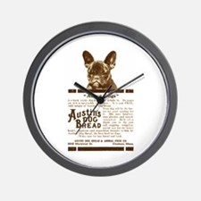Frenchie Bread Ad Wall Clock