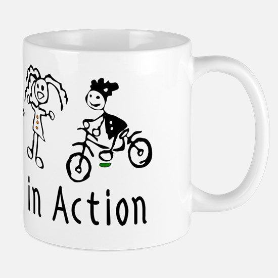 Young Women in Action Mug