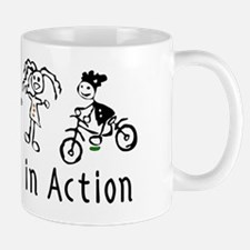 Young Women in Action Small Mugs