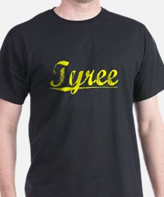 Tyree, Yellow T-Shirt